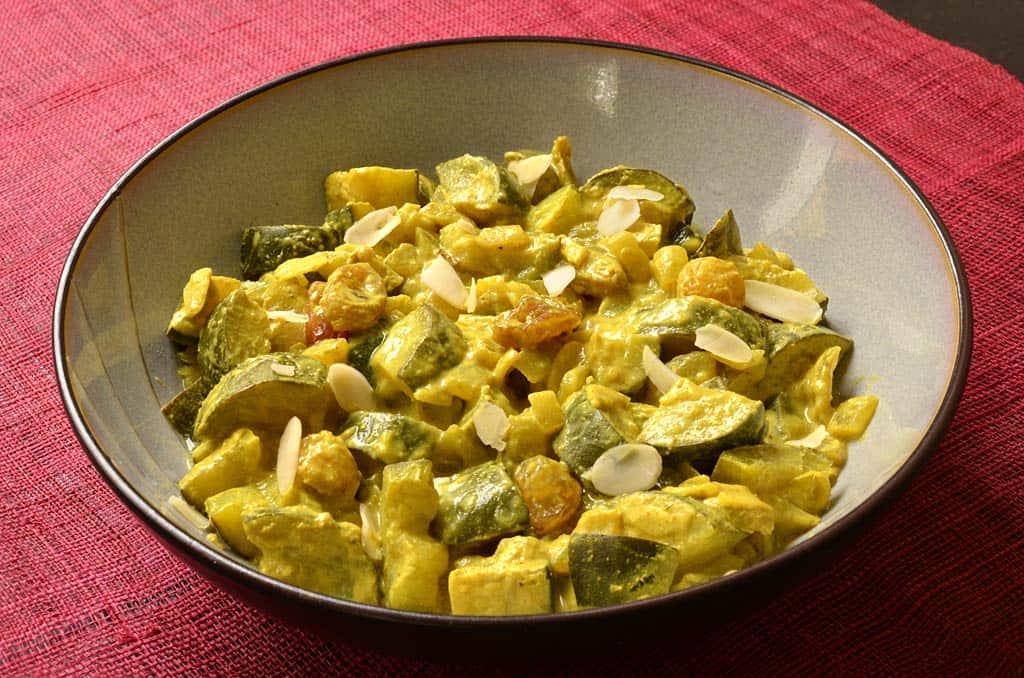Courgettes Au Curry Ma Cuisine Sante