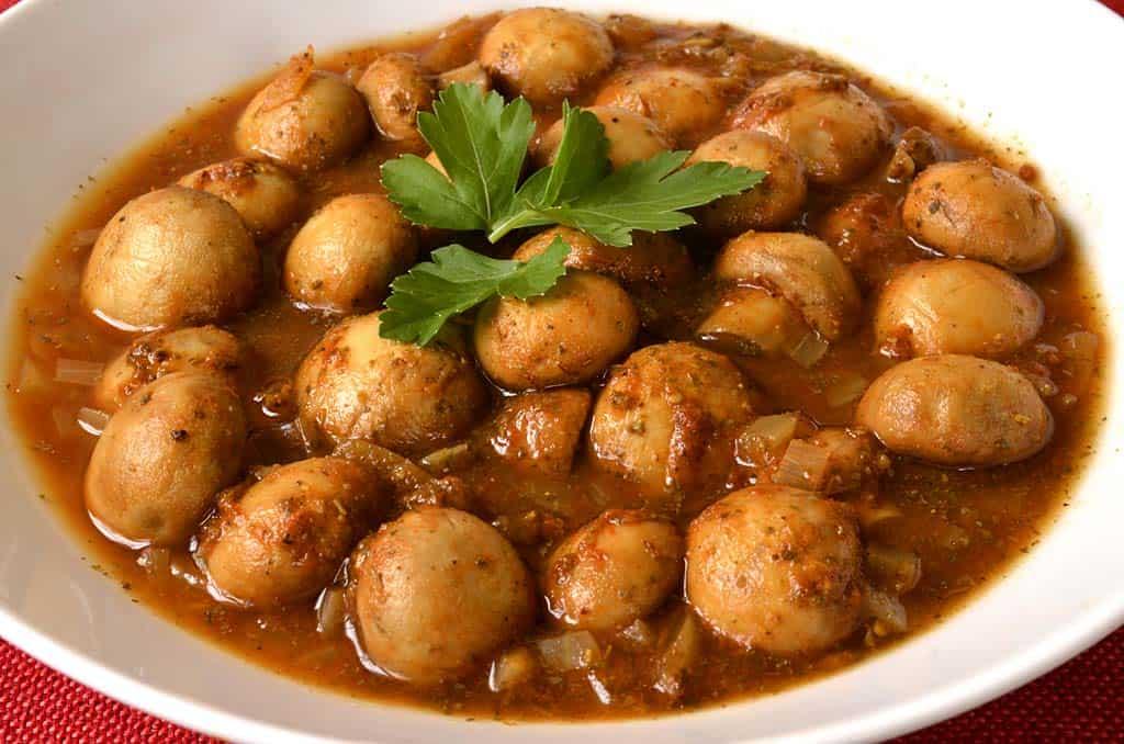 Champignons à la grecque - Ma Cuisine Santé