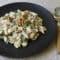 Penne sauce crémeuse aux courgettes et aux noix