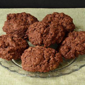 Cookies au chocolat sans oeuf