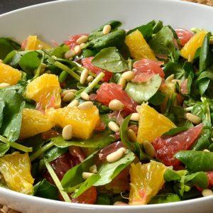 Salade de cresson aux agrumes