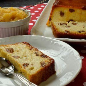 Gâteau de semoule avec ou sans raisins