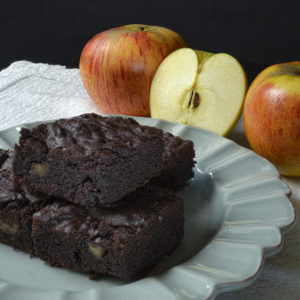 Brownies aux pommes