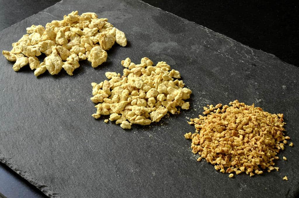 Les protéines de soja texturées